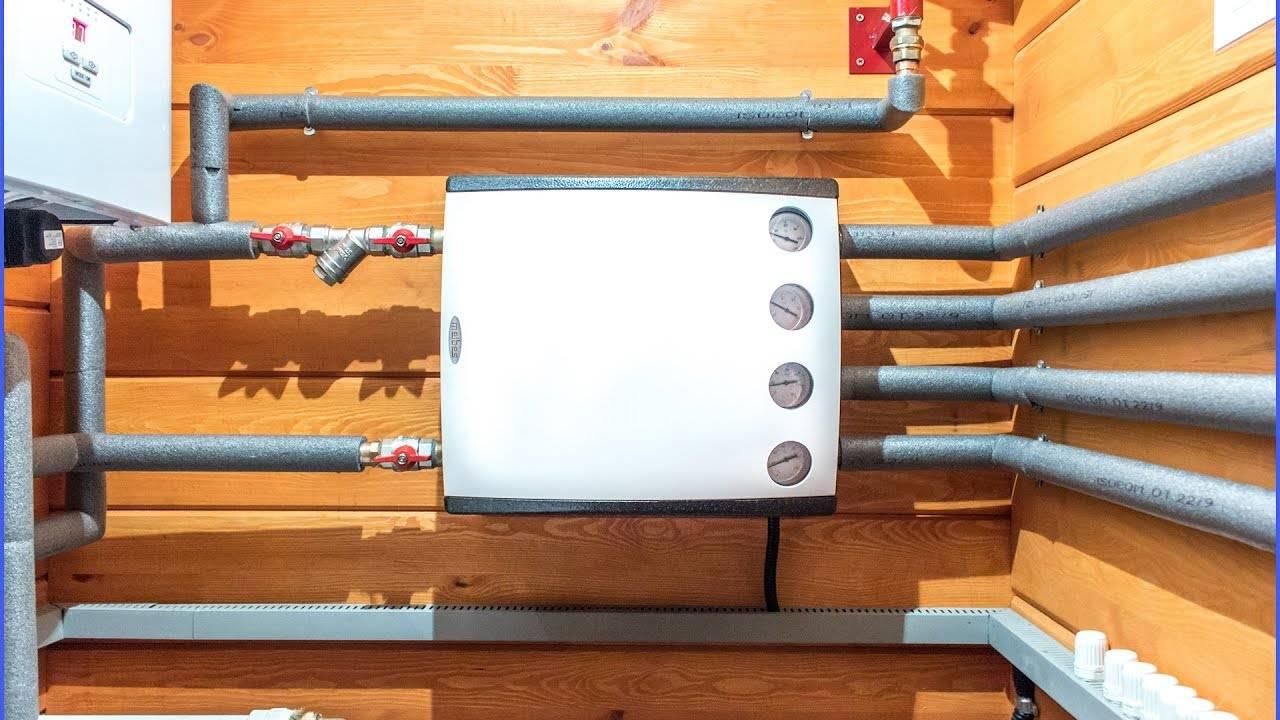 Водяное отопление частного дома своими руками - схемы, типы