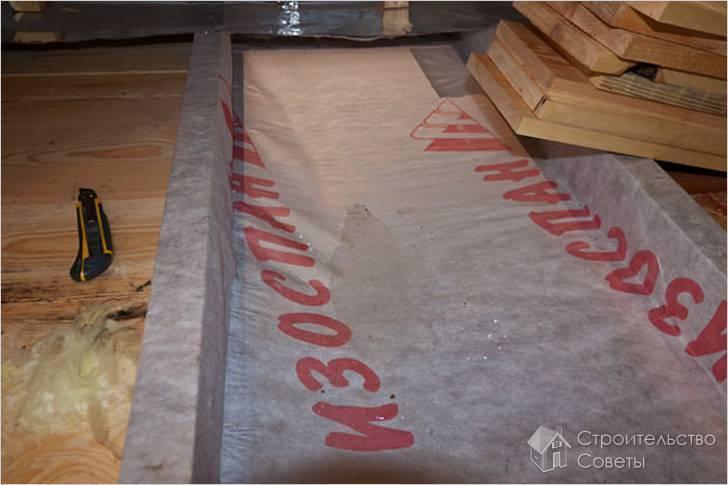 Изоспан а: технические характеристики ветрозащиты и инструкция по применению, какой стороной к утеплителю укладывать