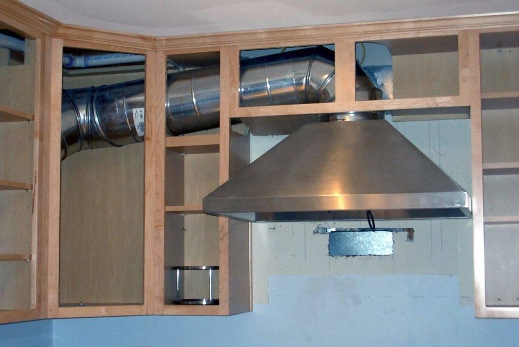 Как подключить вытяжку на кухне: особенности и этапы