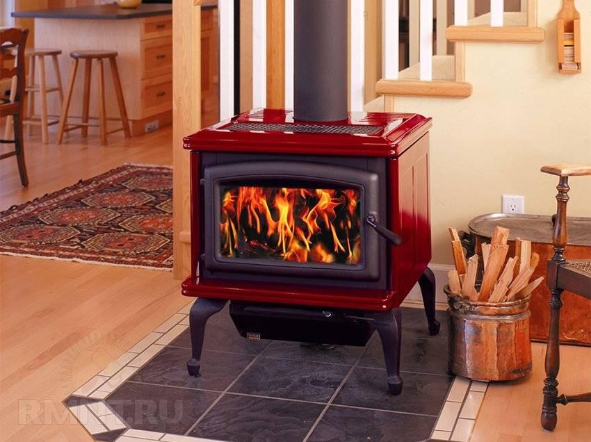 Дровяные печи длительного горения для отопления дома, изготовление своими руками
