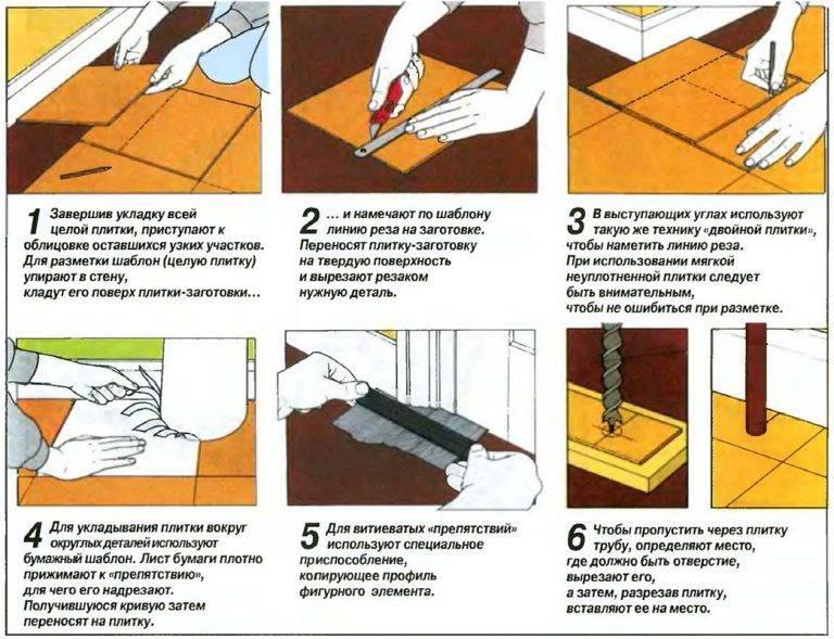 Укладка керамогранита на пол своими руками - подробная инструкция!