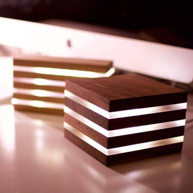 Ночник своими руками - инструкция по формированию стильных ламп