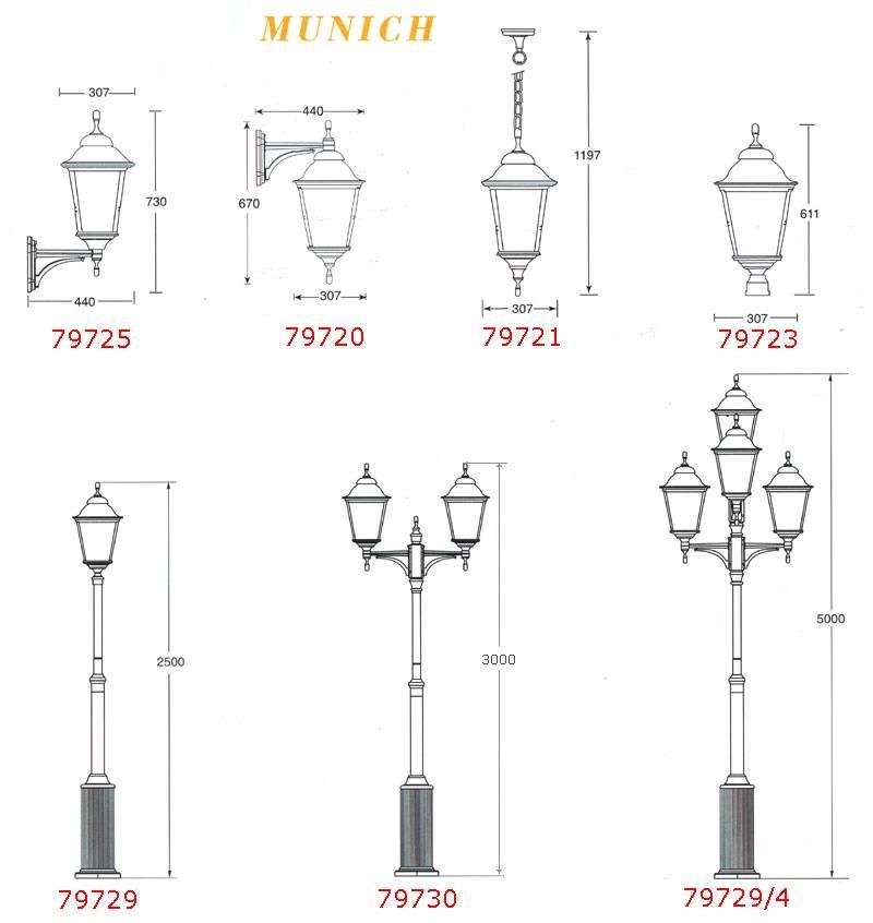 Уличные светильники (89 фото): для загородного дома, наружные подвесные и напольные освещения для сада, кованые для террасы