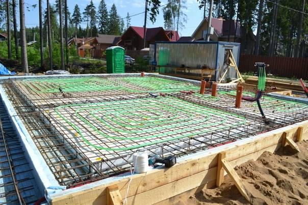 Структура и самостоятельное строительство утепленной шведской плиты