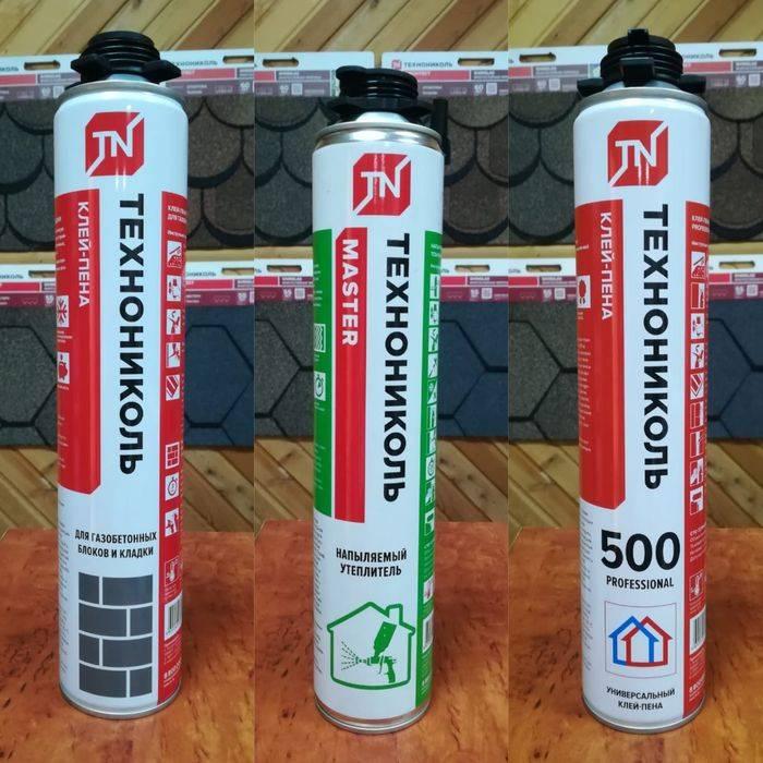 Клей пена для газобетонных блоков: разновидность марок, технология использования.