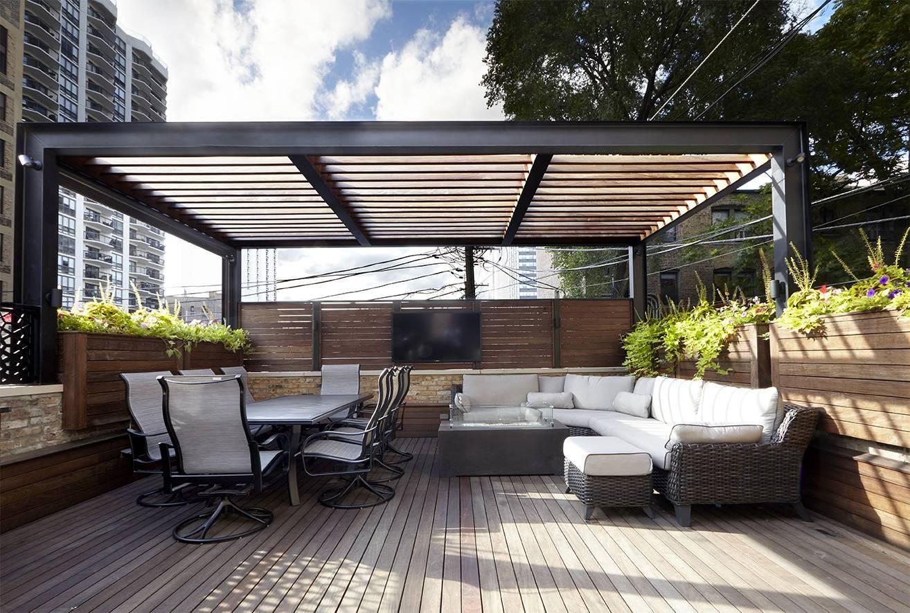 Стеклянная крыша для террасы: конструктивные особенности и используемые материалы
