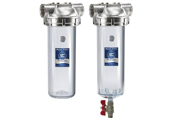 Магистральные фильтры для горячей воды: зачем и кому они нужны?