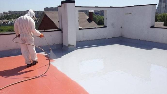 Жидкая резина для кровли — кроем крышу