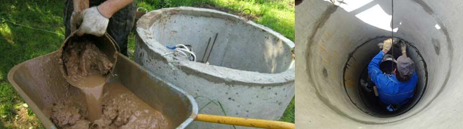 Как почистить колодец своими руками, не спускаясь в него: простые способы