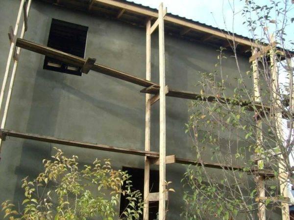 ➤ строительные леса сделать своими руками: деревянные, металлические, фото, видео   мы строители ✔1