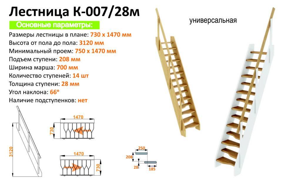 Калькулятор расчета лестницы с забежными ступенями на 90