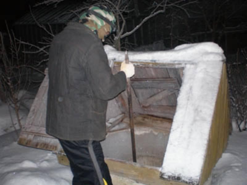 Утепление скважины на зиму в зависимости от климата