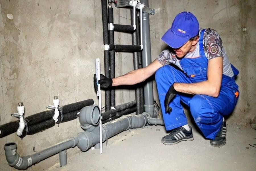 Как осуществляется монтаж систем водоснабжения