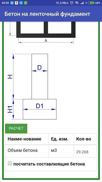 Как выполнить расчет количества арматуры для ленточного фундамента при помощи онлайн-калькулятора + вычисления параметров опалубки и сечения