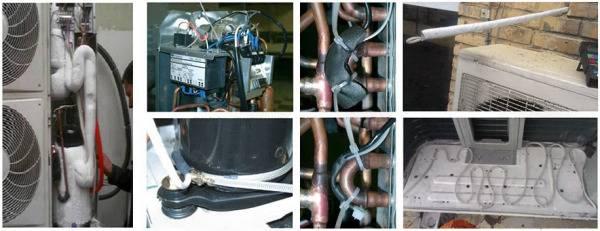 Включение кондиционера зимой и установка комплекта для обогрева
