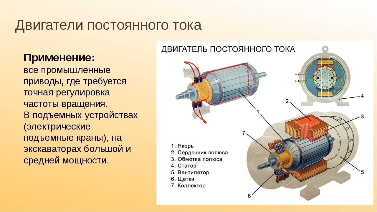 Схема, особенности, принцип действия и устройство генератора постоянного тока