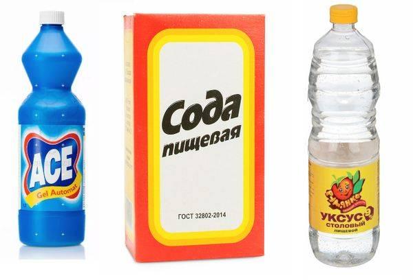 Чистка канализации с применением каустической соды — 4 способа
