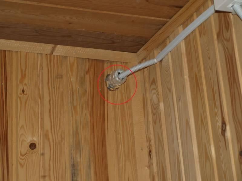 Электропроводка в бане своими руками: пошаговая инструкция + схема