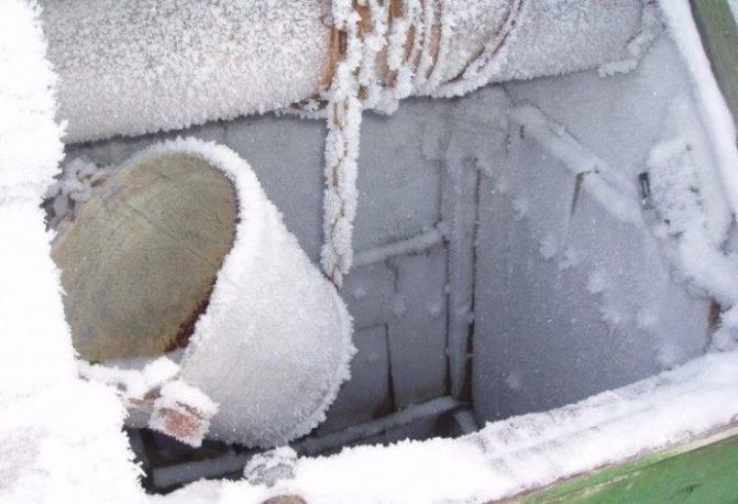 Утепление септика из бетонных колец   все о септиках