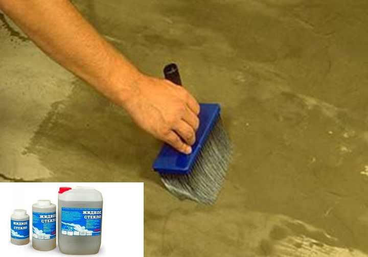 Жидкое стекло для бетона — универсальность силикатной смеси