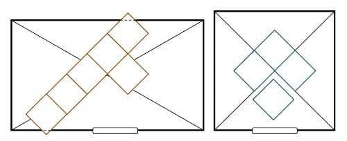 Укладка плитки по диагонали на пол: как класть и положить, видео ромбом, напольная разметка, фото раскладки оригинальная укладка плитки по диагонали на пол своими руками – дизайн интерьера и ремонт квартиры своими руками