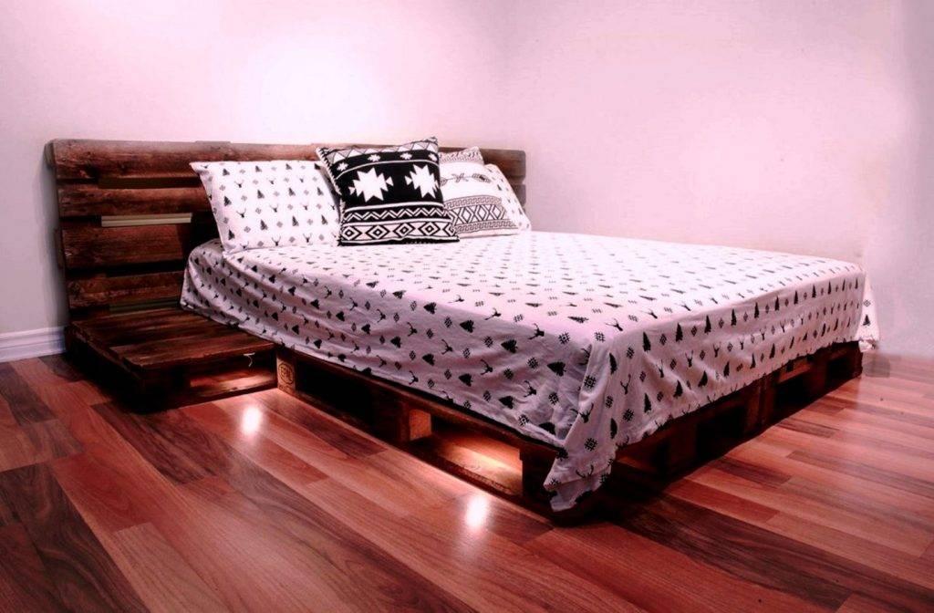 Кровать своими руками дешевле 10000 рублей, а выглядит намного дороже
