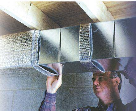 Воздушное отопление своими руками на примере небольшого дачного дома