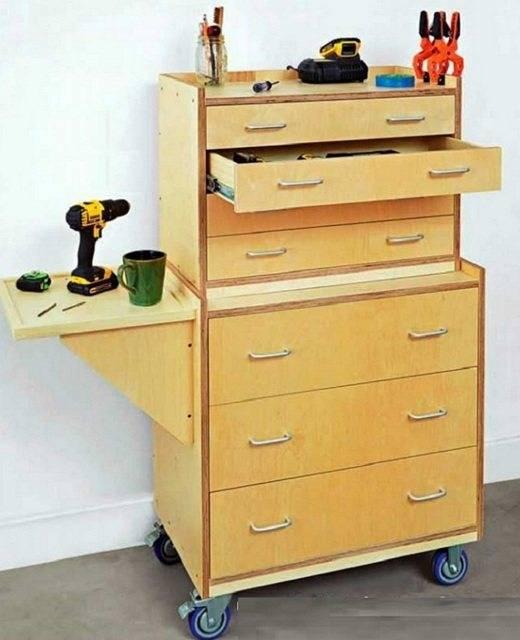 Ящик для инструментов – особенности популярных видов, варианты из разных материалов