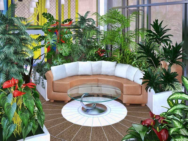 Зимний сад своими руками - 90 фото лучших идей и советы по выбору стиля и применению в ландшафтном дизайне