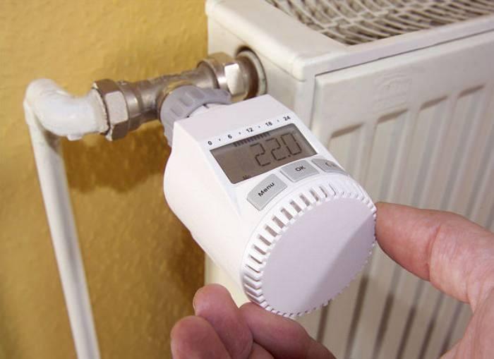 Терморегулятор для радиатора отпления