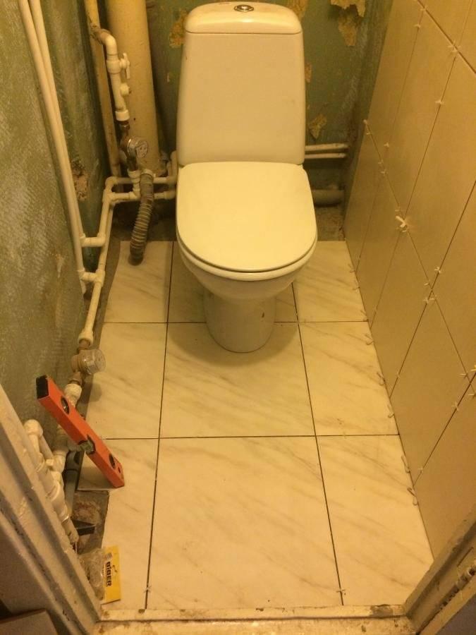 Ремонт туалета своими руками: этапы, особенности, отделка