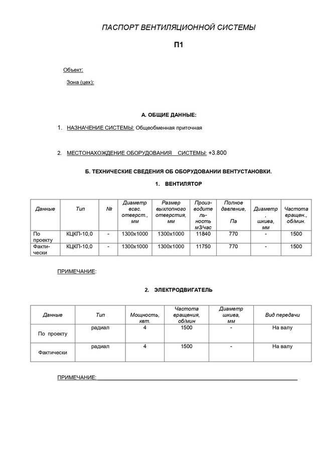 Журнал дезинфекции вентиляции и учета работ по очистке вентиляции
