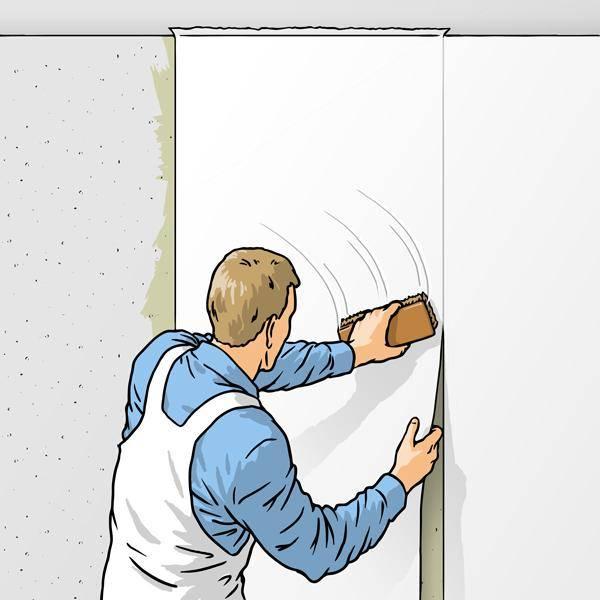Как клеить фотообои на стену (видео)
