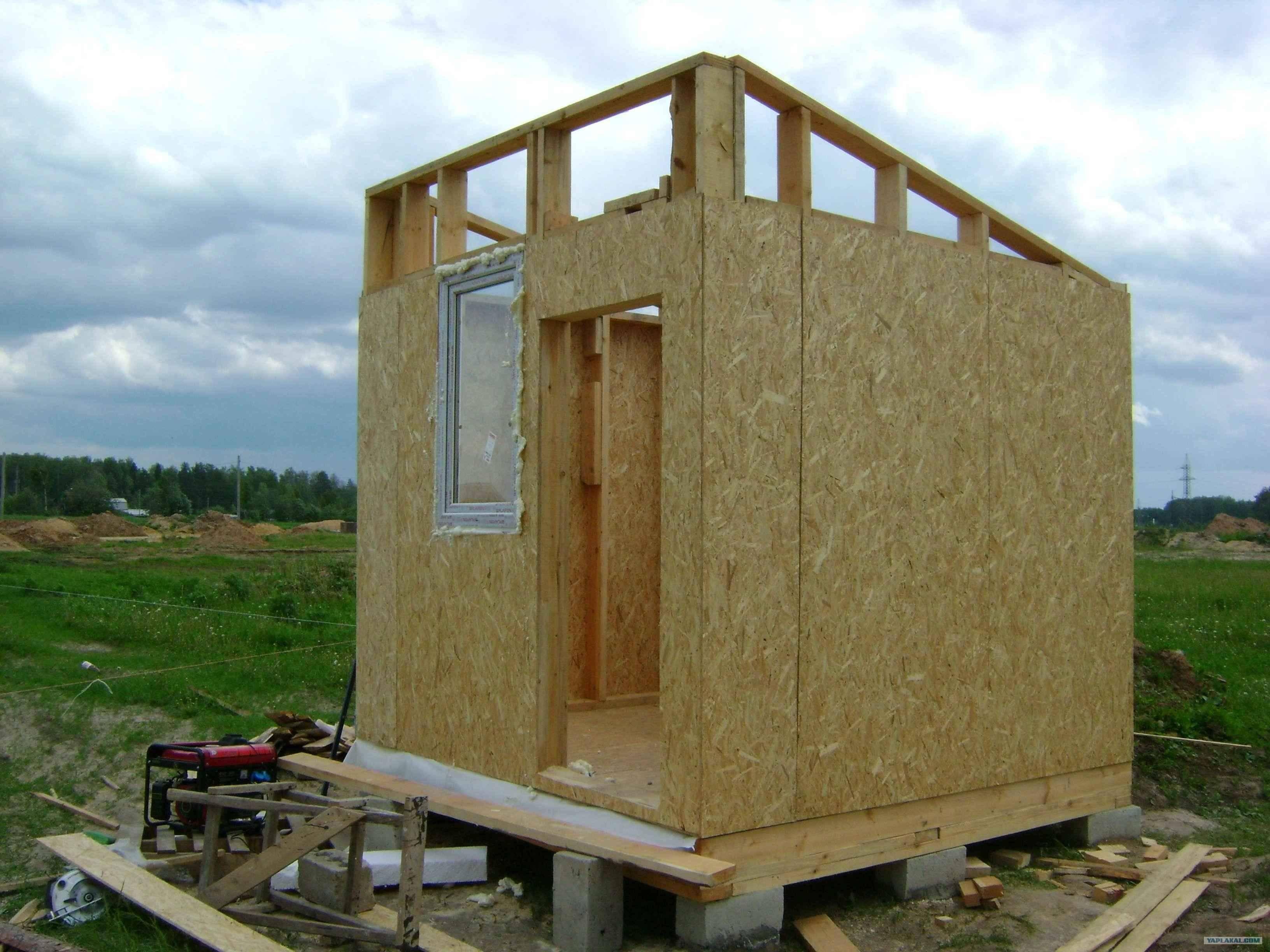 Пошаговая инструкция по строительству дачного домика