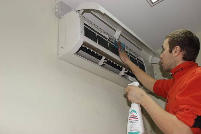 Как самому почистить кондиционер дома: чистка внутреннего и внешнего блока