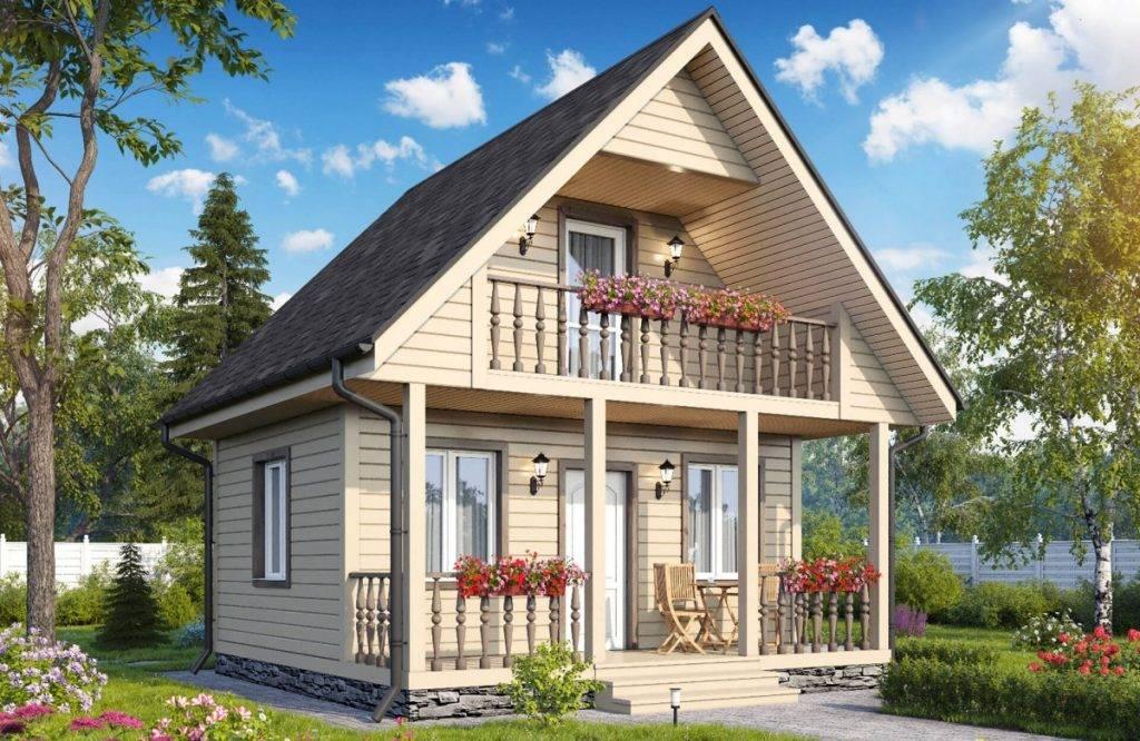 Дачный домик 4х6 (32 фото): планировка одноэтажного садового дома, проекты и чертежи