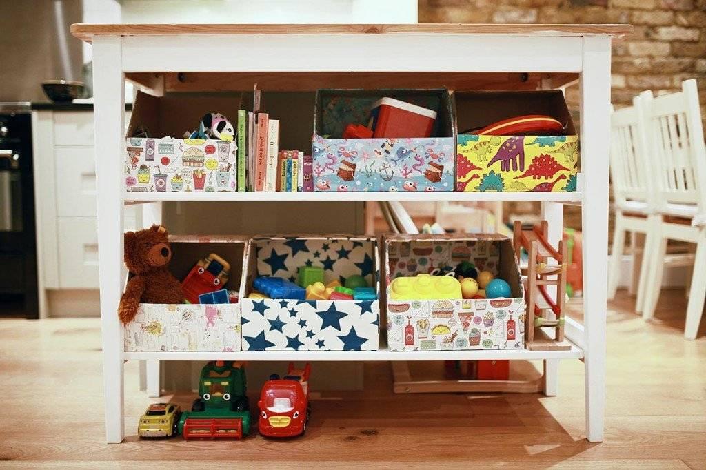 Корзина для игрушек своими руками: мастер-класс по изготовлению короба, мешка и сундука, органайзер под мелочь