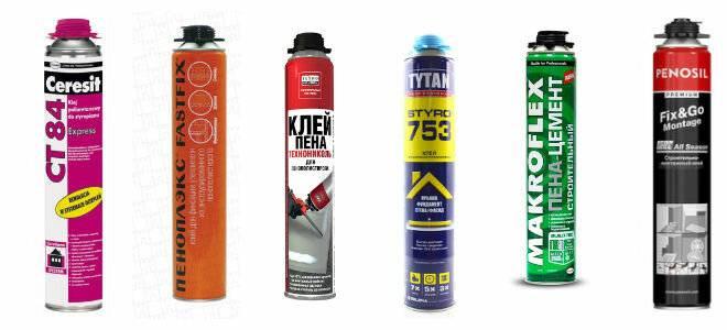 Клей-пена для газобетона: технология монтажа и способы нанесения