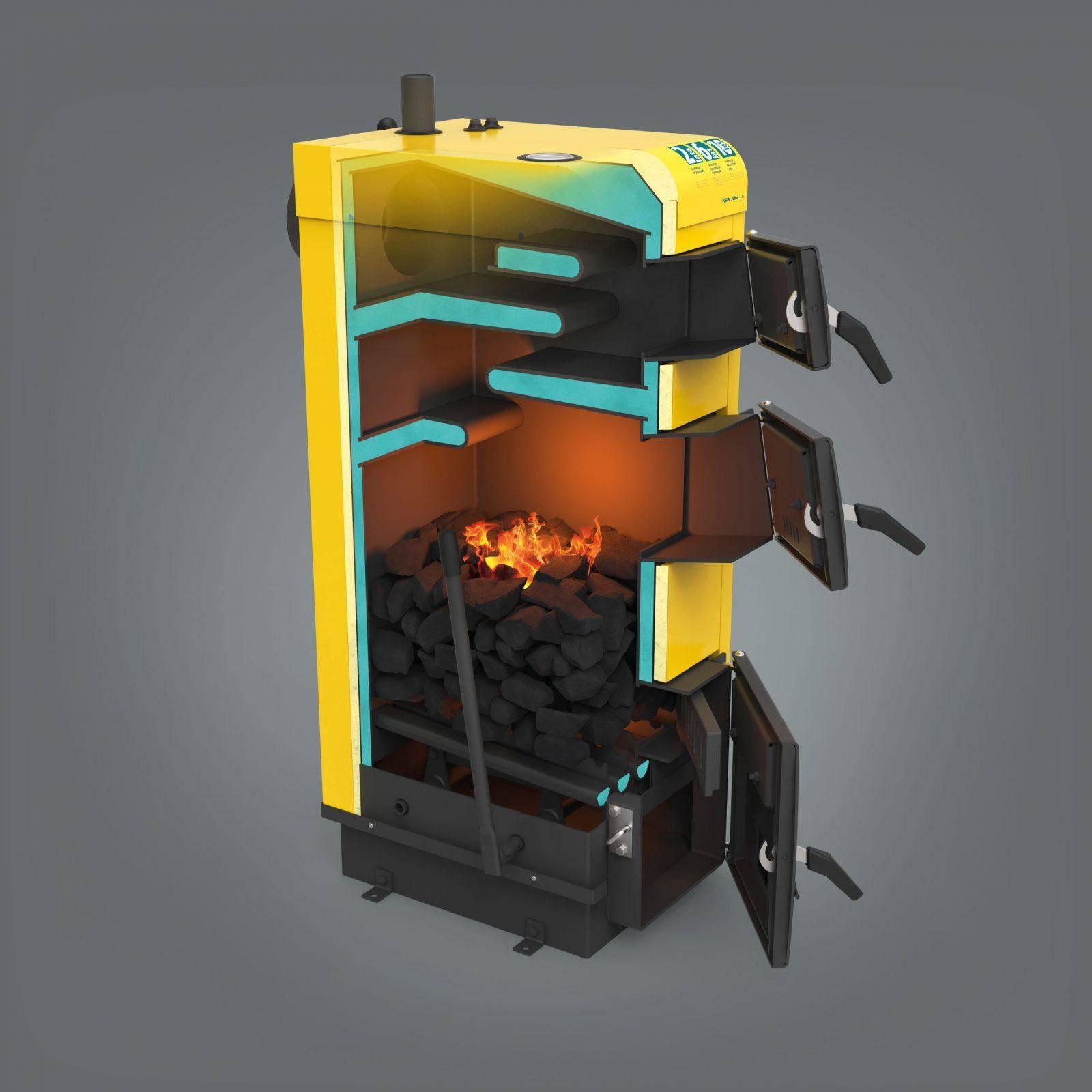 Котел длительного горения (71 фото): отопительный прибор «холмова» с водяным контуром для дома, шахтный продукт длительностью горения до 7 суток