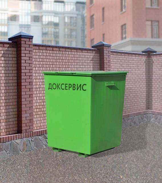 Объем и размеры мусорных контейнеров: стандартные баки для мусора 27 кубов и 60 литров, 100 л и 6 м3, другие виды и стандарт габаритов