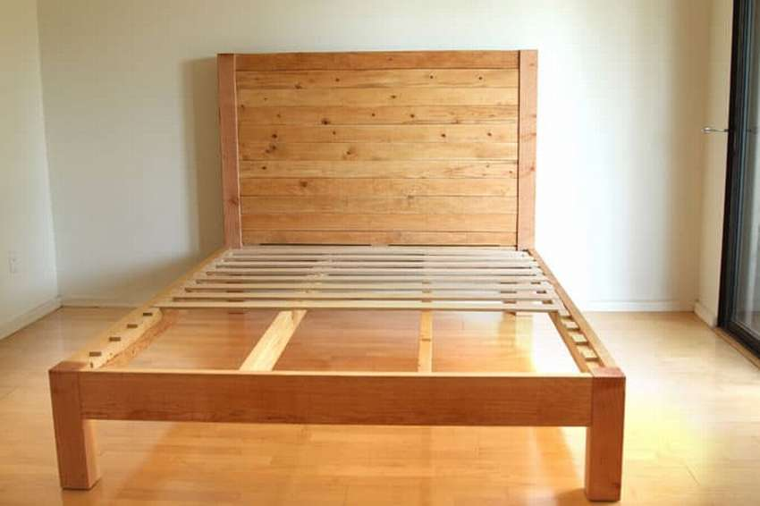 Двуспальная кровать своими руками, чертежи и схемы корпуса и изголовий