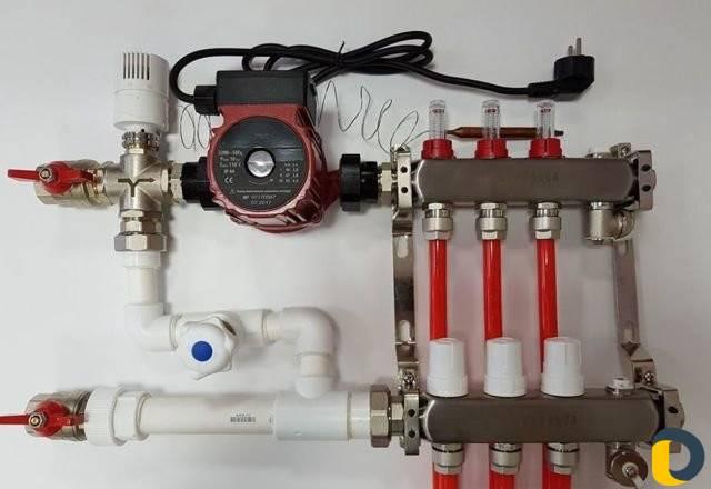 Смесительный узел для теплого пола своими руками: устройство | строй советы