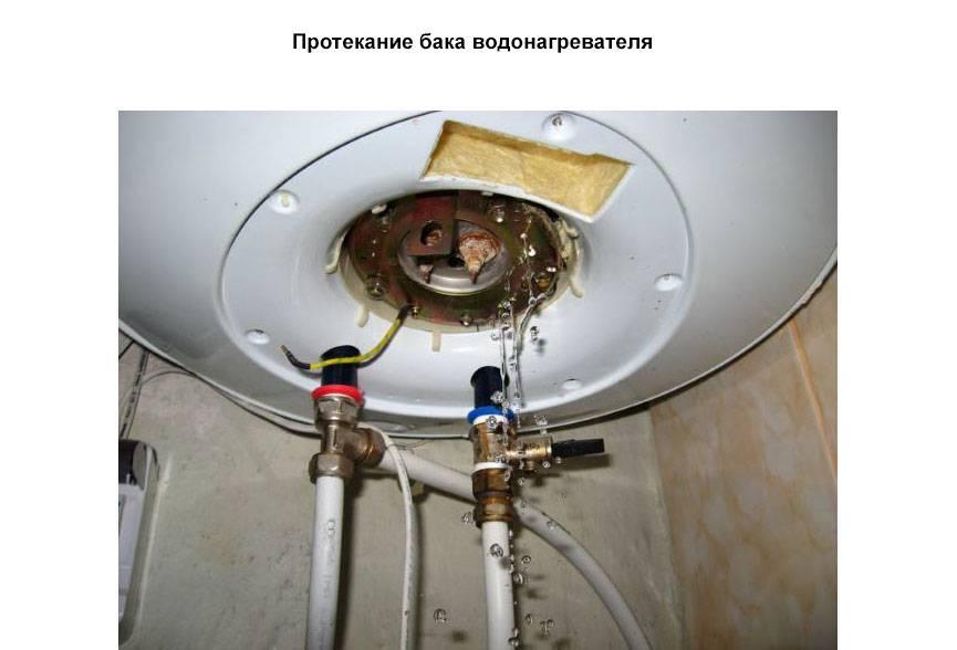 Из бойлера не идет горячая вода - в чем причина, и что делать