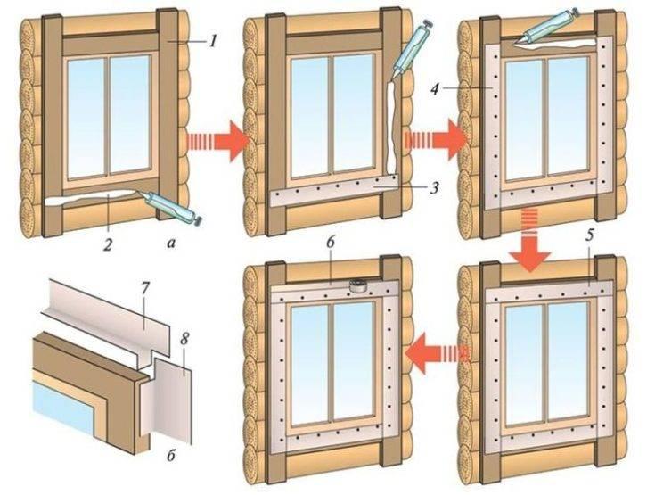 Наличник пластиковый на окно - цена и как установить? резные наличники
