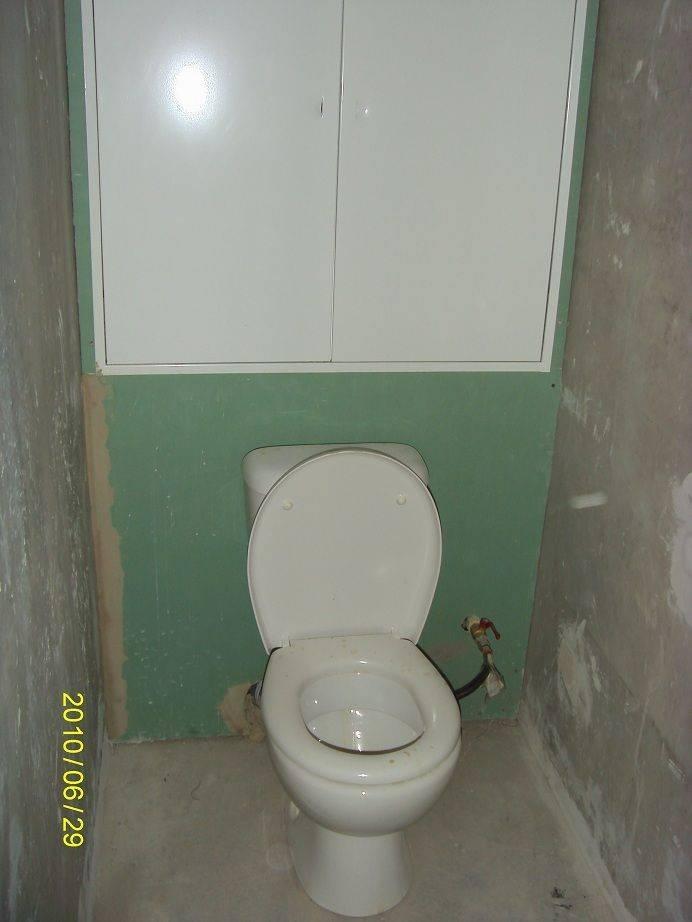 Ремонт туалета в квартире – инструкция к действию