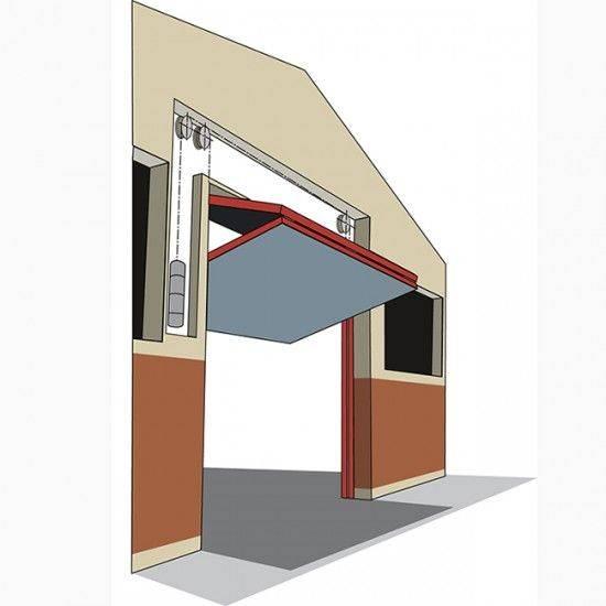 Подъемные ворота своими руками (88 фото): чертежи гаражных секционных складных ограждений, самодельная калитка для гаража