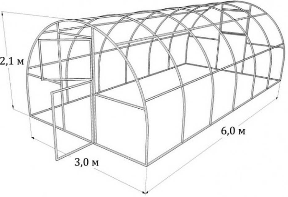 Теплица из поликарбоната своими руками: пошаговая инструкция, чертежи, фото и видео сборки и установки конструкций