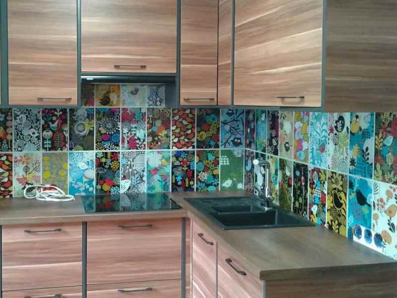 Какие бывают материалы для фартука на кухню и что из них лучше?