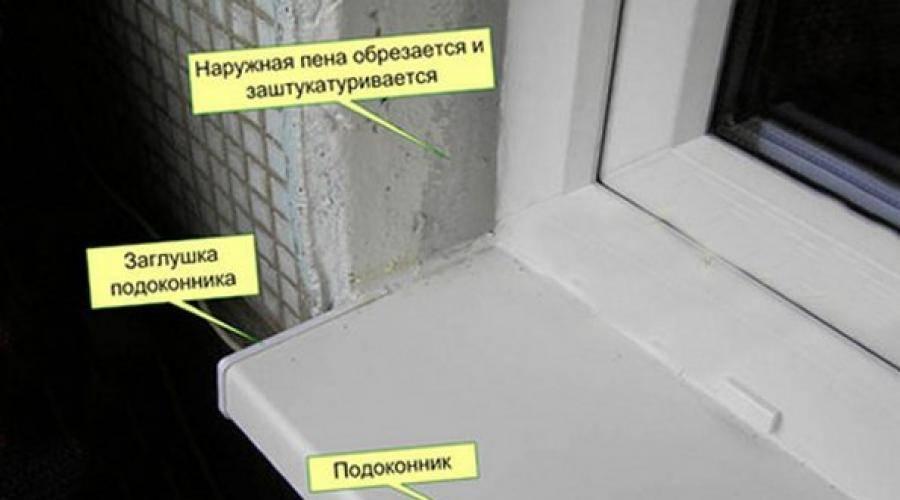 Отделка и утепление откосов пластиковых окон – делаем ремонт своими руками
