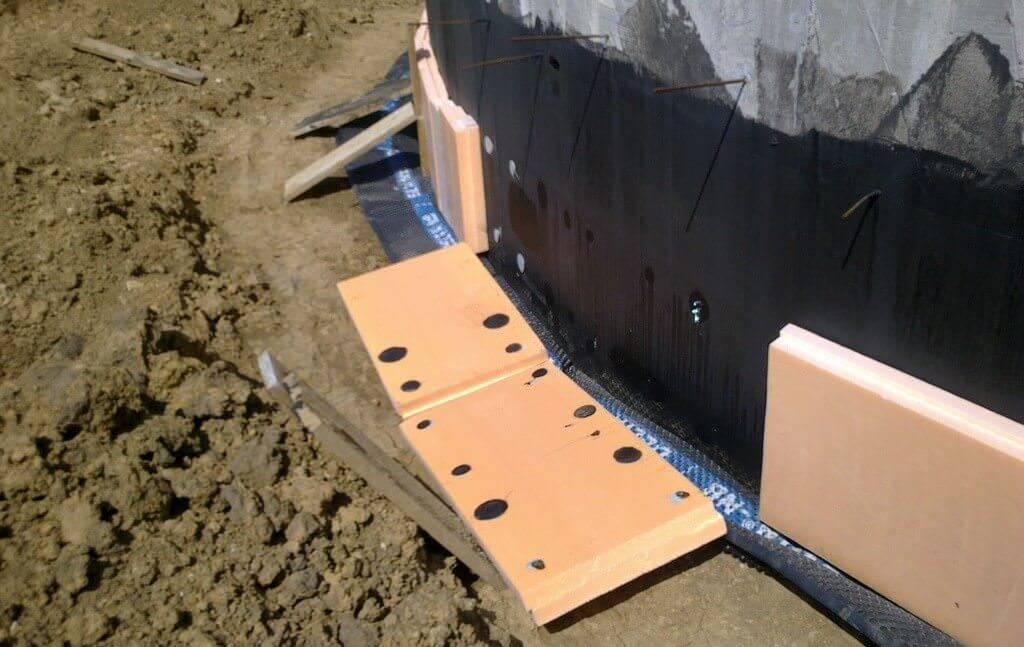 Способы утепления фундамента деревянного дома снаружи